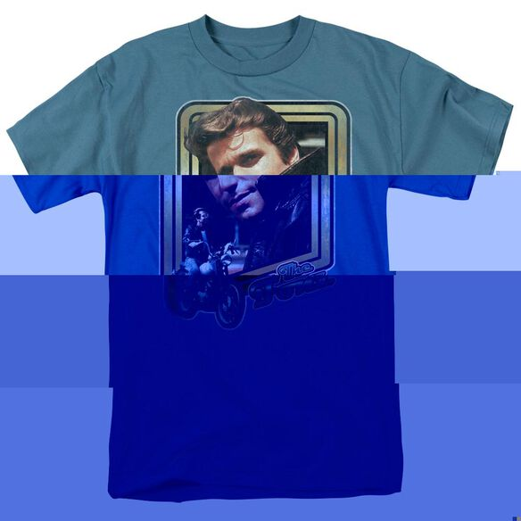 HAPPY DAYS THE FONZ - S/S ADULT 18/1 - SLATE T-Shirt