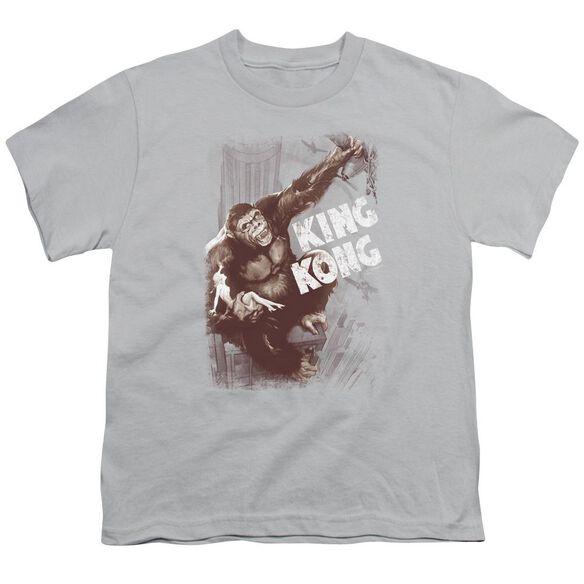 King Kong Sepia Snag Short Sleeve Youth T-Shirt