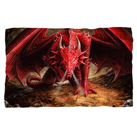 Anne Stokes Dragons Lair Fleece Blanket