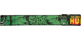 Incredible Hulk Name Expressions Wide Mesh Belt