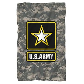 Army Patch Fleece Blanket
