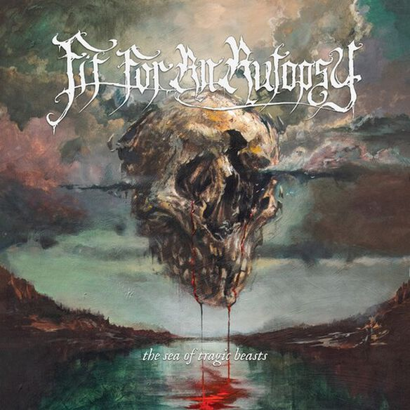 Fit for an Autopsy - The Sea of Tragic Beasts (Red/Blue Splatter)