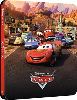 Cars [Limited Edition Blu-ray Steelbook]