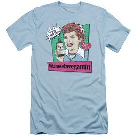 I LOVE LUCY VITA COMIC - S/S ADULT 30/1 - LIGHT BLUE T-Shirt