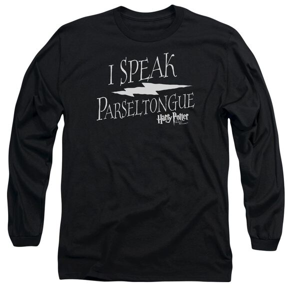 Harry Potter I Speak Parseltongue Long Sleeve Adult T-Shirt