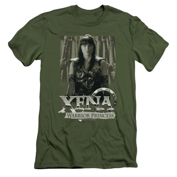 Xena Honored Short Sleeve Adult Military T-Shirt