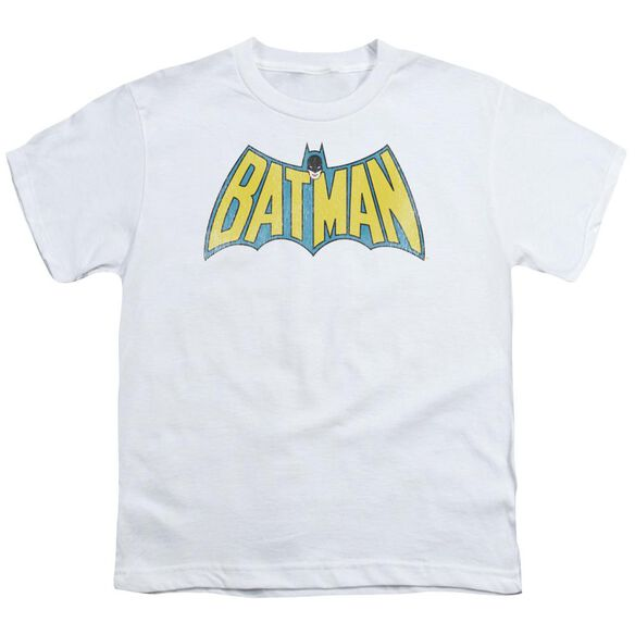 DC CLASSIC BATMAN LOGO - S/S YOUTH 18/1 - WHITE T-Shirt