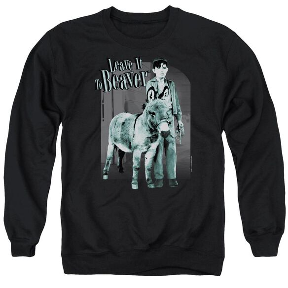 Leave It To Beaver Up To Something Adult Crewneck Sweatshirt