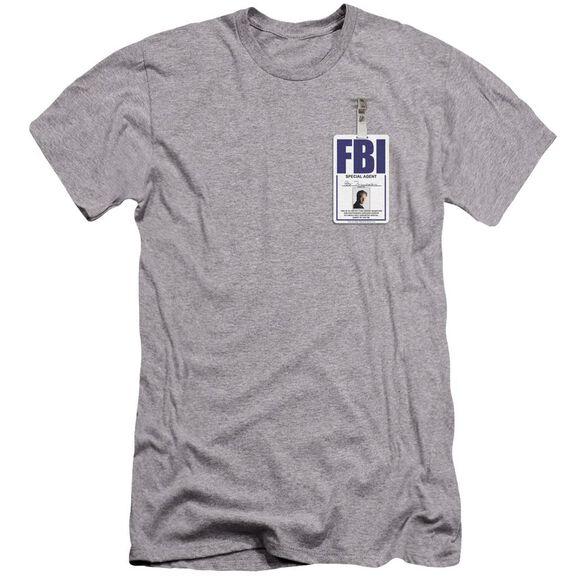 Files Mulder Badge Premuim Canvas Adult Slim Fit Athletic