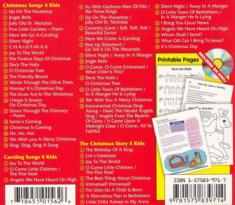 Christmas Songs 4 Kids [Box Set] by Twin Sisters - Used on CD | FYE