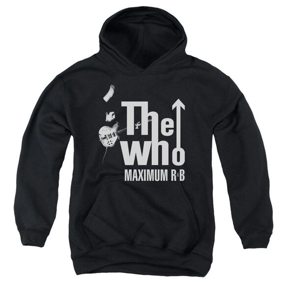 The Who Maximum R&B Youth Pull Over Hoodie
