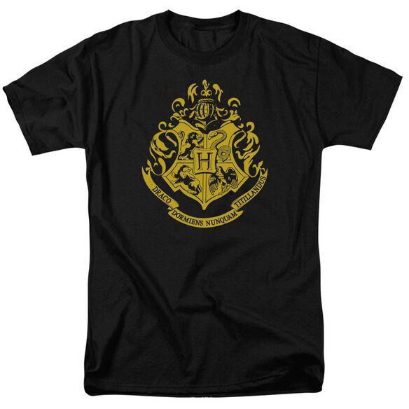 Harry Potter Hogwarts Crest Short Sleeve Adult T-Shirt