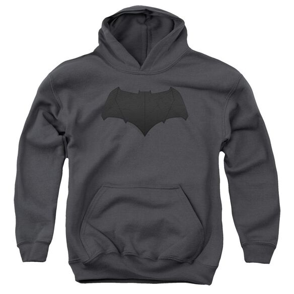 Justice League Movie Batman Logo Youth Pull Over Hoodie