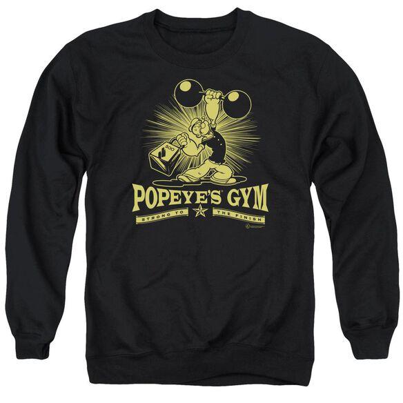 Popeye Popeyes Gym Adult Crewneck Sweatshirt