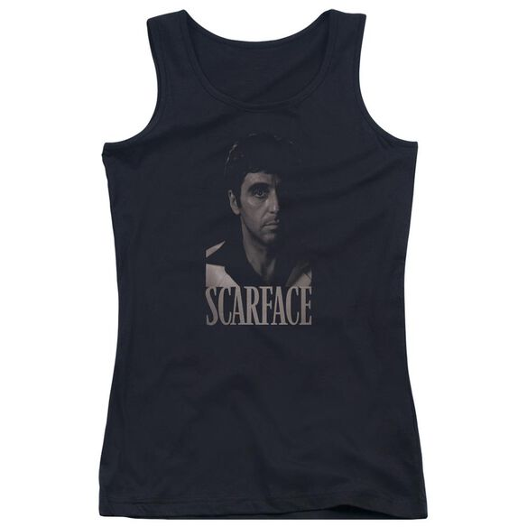 Scarface B&W Tony Juniors Tank Top