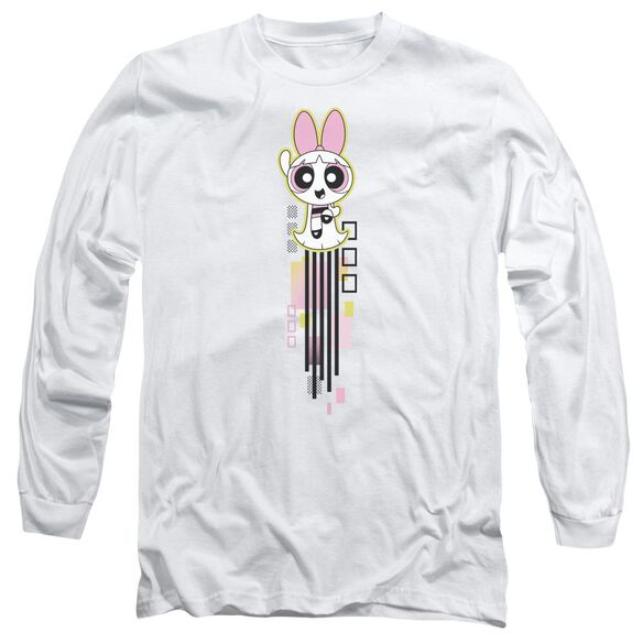 Powerpuff Girls Blossom Streak Long Sleeve Adult T-Shirt