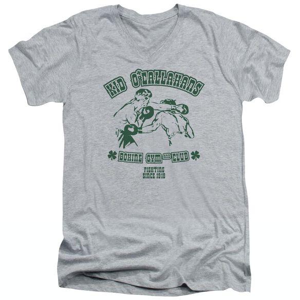 KID OCALLAHANS - ADULT V-NECK - ATHLETIC HEATHER T-Shirt