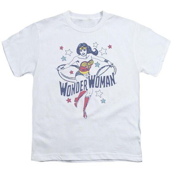 Dc Wonder Stars Short Sleeve Youth T-Shirt