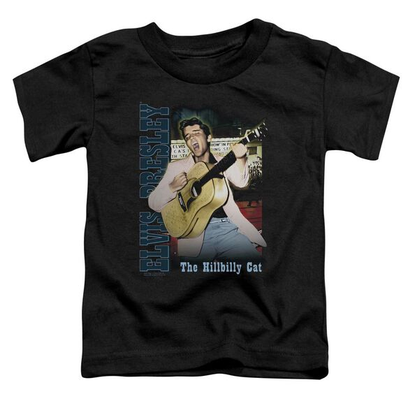 Elvis Memphis Short Sleeve Toddler Tee Black T-Shirt