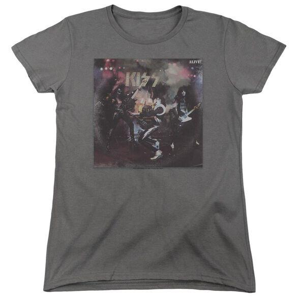 Kiss Alive! Short Sleeve Womens Tee T-Shirt