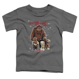 Labyrinth Should You Need Us Short Sleeve Toddler Tee Charcoal Md T-Shirt