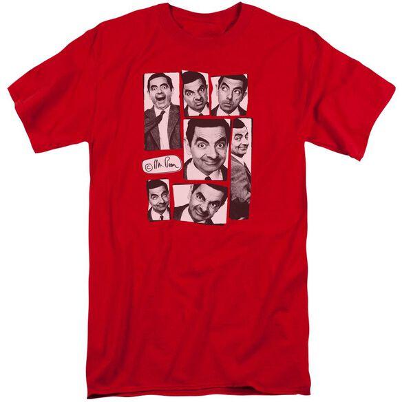 Mr Bean Boxed Beans Short Sleeve Adult Tall T-Shirt