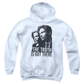X Files Truth-youth Pull-over Hoodie - White