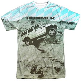 Hummer Trek Short Sleeve Adult Poly Crew T-Shirt