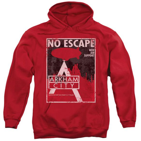 Arkham City No Escape Adult Pull Over Hoodie