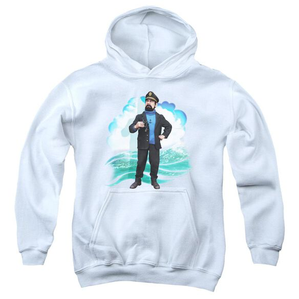 Tintin Haddock Youth Pull Over Hoodie