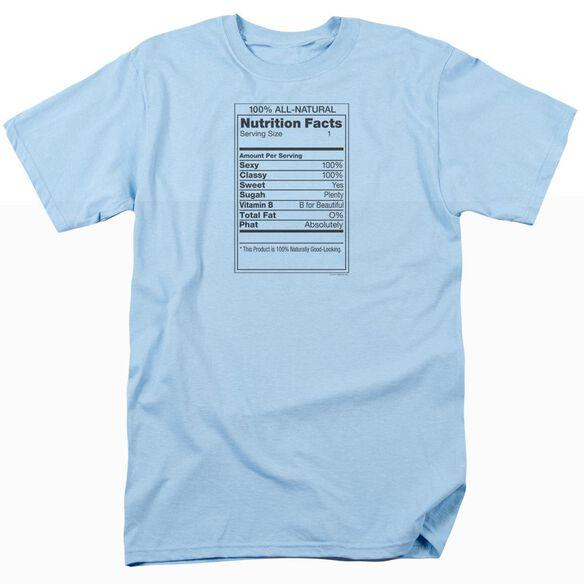 100% ALL NATURAL- ADULT 18/1 - LIGHT BLUE T-Shirt