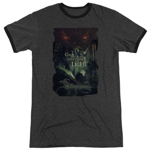 Hobbit Taunt Adult Heather Ringer Charcoal