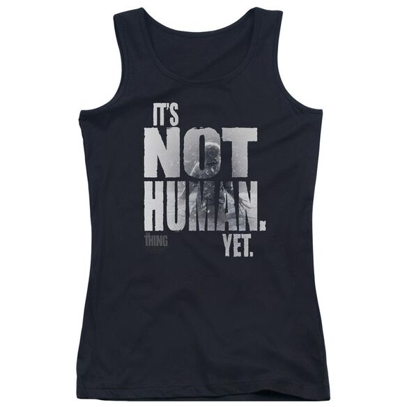 Thing Not Human Yet Juniors Tank Top