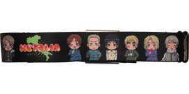Hetalia Italy Characters Seatbelt Mesh Belt