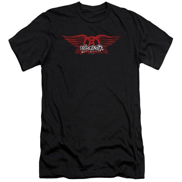Aerosmith Winged Logo Premuim Canvas Adult Slim Fit