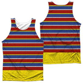 Sesame Street Ernie Costume (Front Back Print) Adult Poly Tank Top