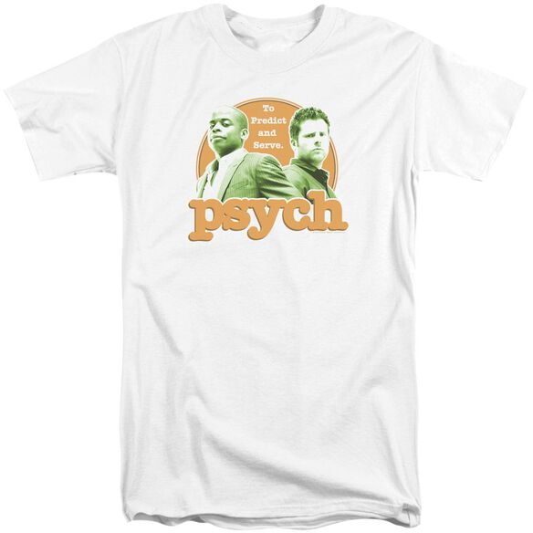 Psych Predictable Short Sleeve Adult Tall T-Shirt