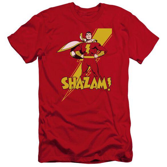 Dc Shazam! Premuim Canvas Adult Slim Fit