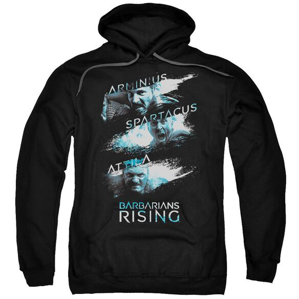 Barbarians Rising Barbarian Splash Adult Pull Over Hoodie