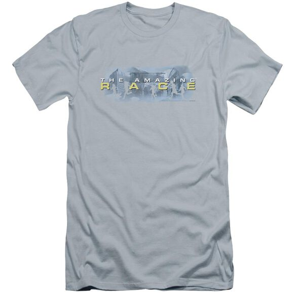 Amazing Race In The Clouds Premuim Canvas Adult Slim Fit Light