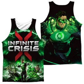 Infinite Crisis Ic Green Lantern (Front Back Print) Adult 100% Poly Tank Top