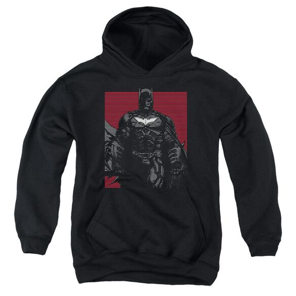 Dark Knight Rises Bat Lines Youth Pull Over Hoodie