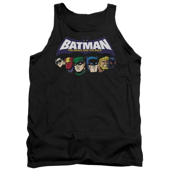 Batman Bb Head Lineup Adult Tank