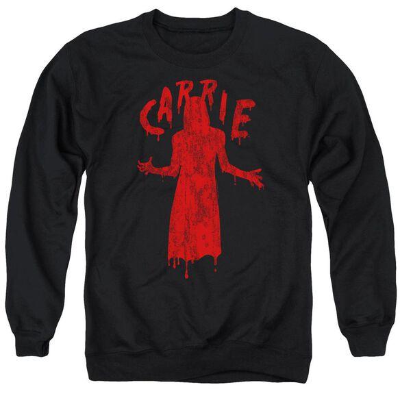Carrie Silhouette Adult Crewneck Sweatshirt
