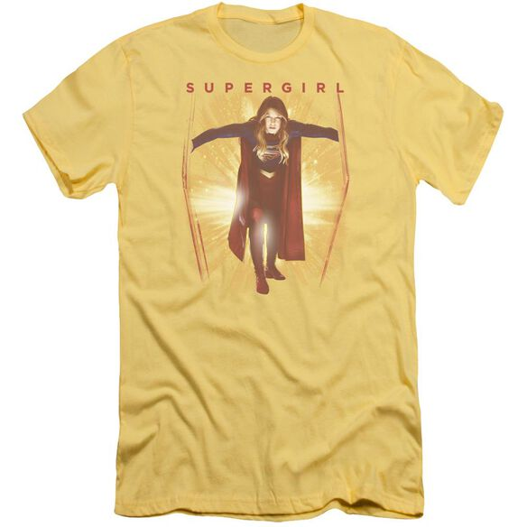 Supergril Through The Door Short Sleeve Adult T-Shirt