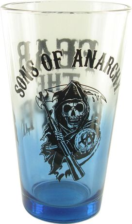 Sons of Anarchy Fear Reaper Pint Glass