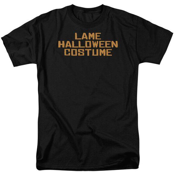 Lame Halloween Costume Short Sleeve Adult T-Shirt