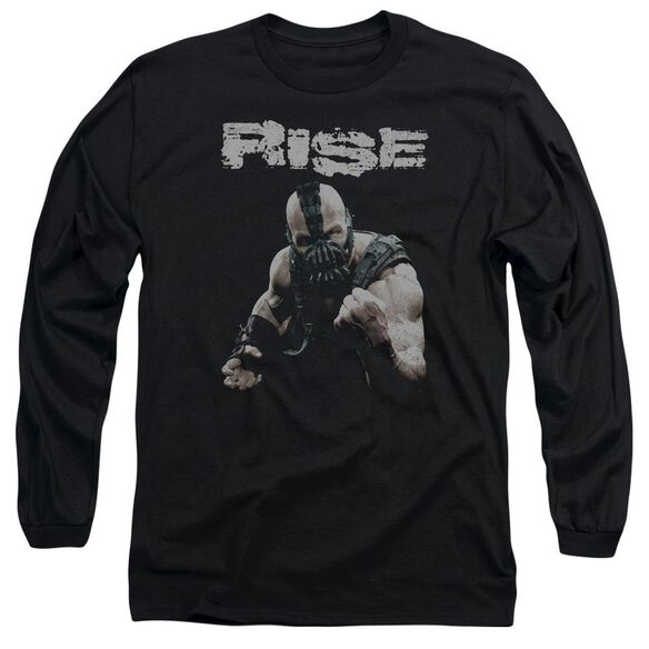 Dark Knight Rises Rise Long Sleeve Adult T-Shirt