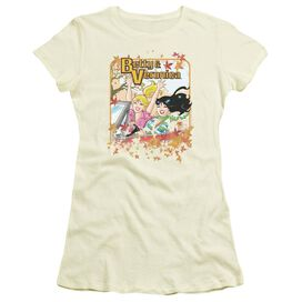 Archie Comics Fall Colors Short Sleeve Junior Sheer T-Shirt