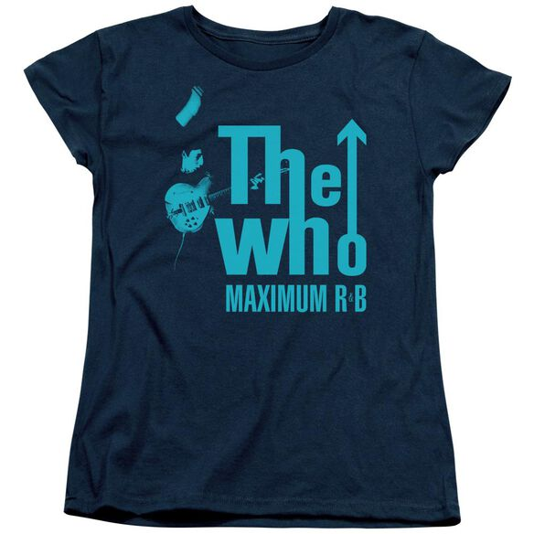 The Who Maximum R&B Short Sleeve Women's Tee T-Shirt